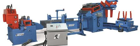 New CTL Line Combines Servo Feed with Hydraulic Shear