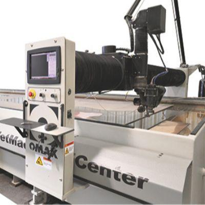 Big-Bed Dual-Bridge Waterjet-Cutting Machine
