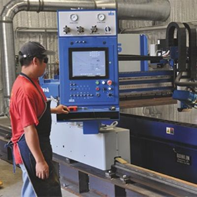 Fabricators Gain an Edge with Plasma-Arc Cutting