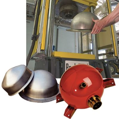 New Deep-Draw Press Extinguishes Productivity Limi...