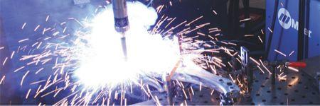 Metal-Cored Wire for Welding Galvanized Steel Full Speed Ahead