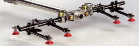 Aluminum End Effectors Lighten the Load on Press-Tending Robots
