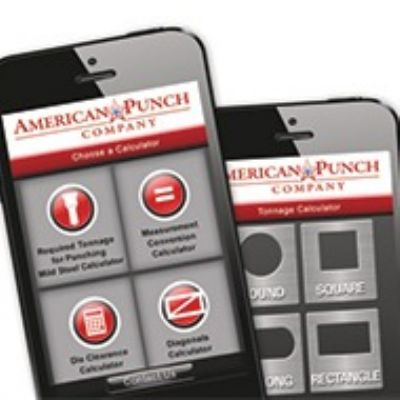 Punching-Tonnage App Features Three New Calculators