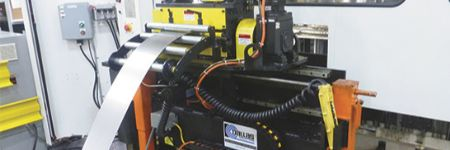 Zig-Zag Servo Feeds Support Servo-Press Operations