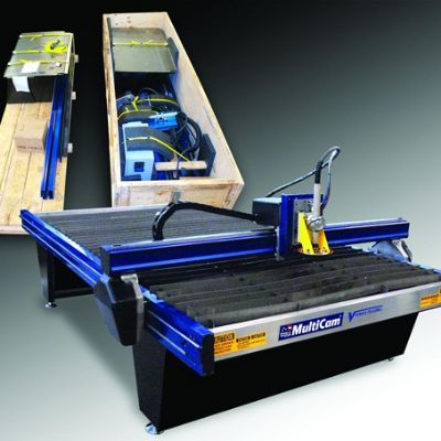 CNC Plasma-Cutting Machine 