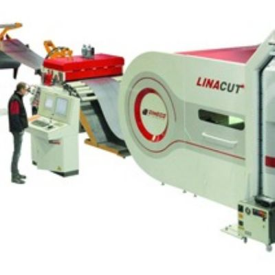 Continuous-Coil Fiber-Laser Cutting