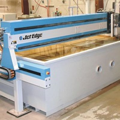 Service Center Banks on Large-Format Waterjet Cutt...
