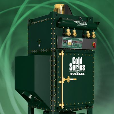 Fume/Dust Collector Comes Fully Assembled and Prewired