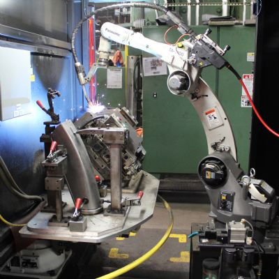 Metal-Cored Wire and Robotic Welding Quite the Pro...
