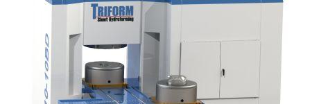 Fast, Compact Deep-Draw  Sheet-Hydroforming Press