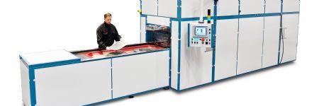 High-Pressure Fluid-Cell Press  Cuts Labor Costs