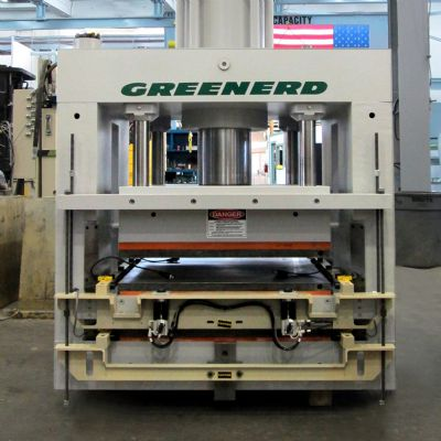 Array of Hydraulic-Press Sizes and Configurations