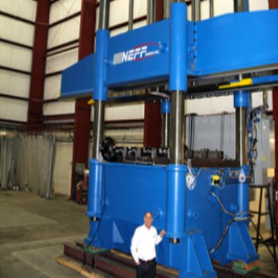 Hydraulic Presses from 1 to 10,000 tons