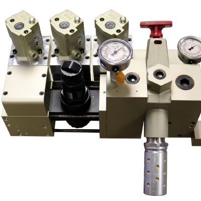 Pneumatic Counterbalance for Larger Mechanical Pre...