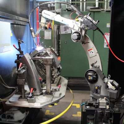 Robotic Welding Cells Out with the Old