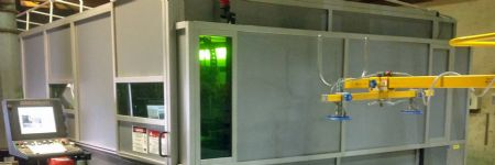Fiber Laser Has Material-Handling-Equipment Manufacturer Walking On Air