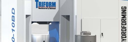 Large Hydroforming Presses  for Deep Drawing