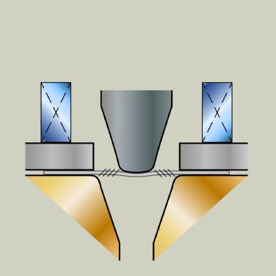 Blankholder Forces in Asymmetrical Cup Drawing