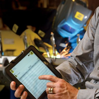 Captured: Real-Time Welding Data to Optimize Quali...