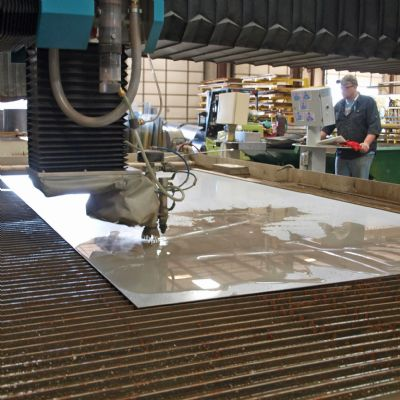 Clean and Precise—Waterjet Meets Sanitary Stainless Standar...