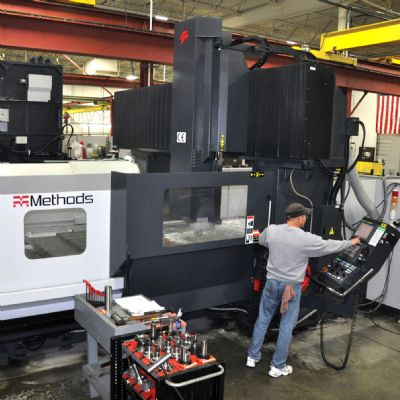 Large Mill Means Victory in Machining Large Progre...