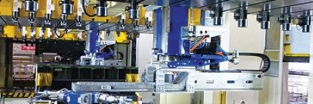 Automobile Press Line  with Automation System