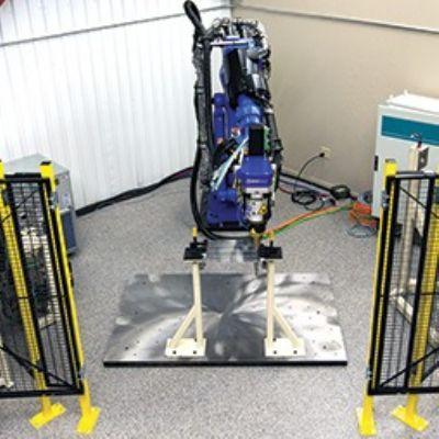 High-Volume Robotic Friction-Stir-Welding System Ideal for A...