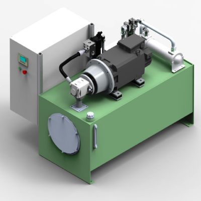 Servo Pump the Heart of a New Hydraulic Power Unit