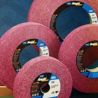 Color-Coded, Longer-Lasting Nonwoven Convolute Wheels