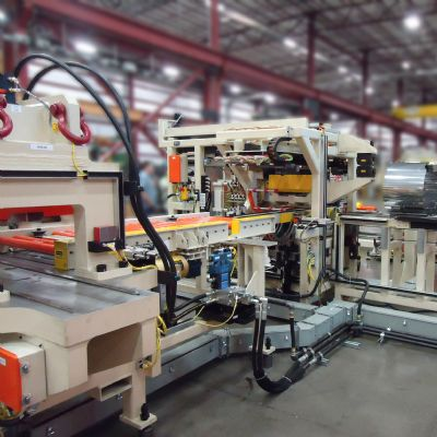 Flexible Roll-Up and Laser-Welding Module for Stainless-Stee...
