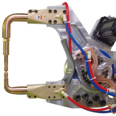 Lightweight Spot-Welding Gun for HSS Applications