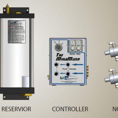 New Low-Velocity, Low-Volume Lube-Spray System