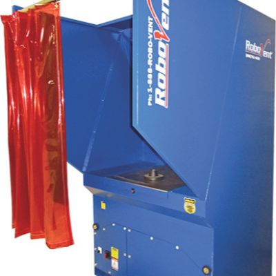 Welding Table Stars Source-Capture Fume-Removal System
