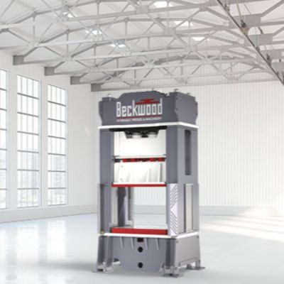 New 800-Ton Hydraulic Press Slated for Weldmac Mfg.