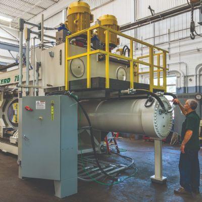 Deep-Draw Hydraulic Press