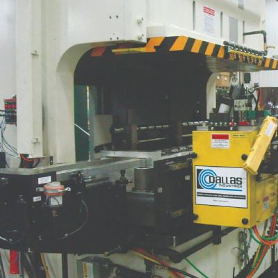 Press-Feed Equipment Lineup Features Zig-Zag Feed