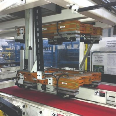 Automotive Stamper Addresses Stacking Challenges