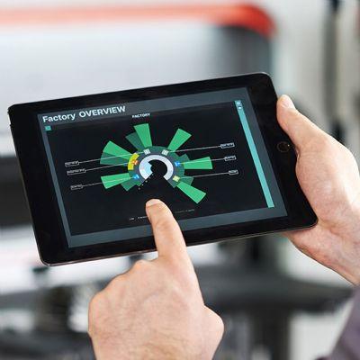 Realtime Monitoring of Cutting, Bending Machines