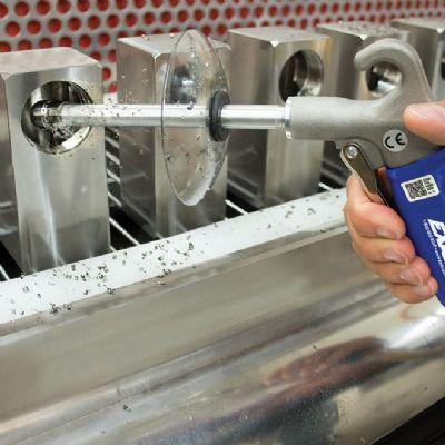 Soft-Grip Air Gun for Cleaning Inside Diameters
