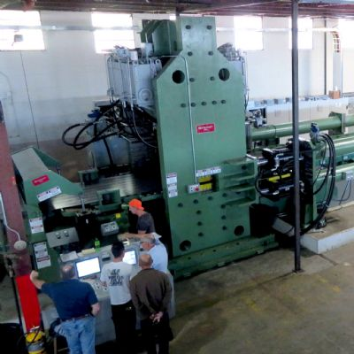Industrial Fabricators Installs Flexible Cut-To-Length Line