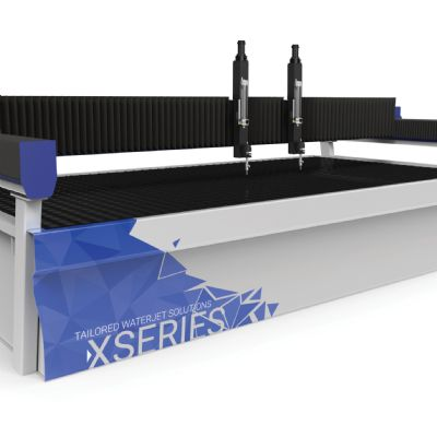 New Waterjet Series Boasts Increased Speed, Accuracy and Durabili...
