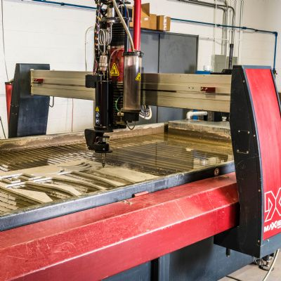 Shop Breaks from Pack with Waterjet Cutting