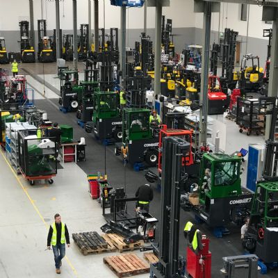 Combilift Moves Innovation Forward...and in Other ...