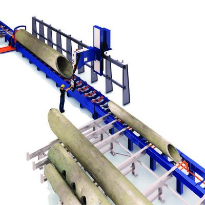 Automated Pipe Moving and Cutting