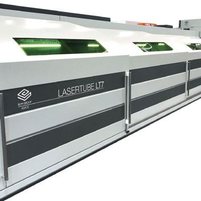 BLM Group Debuts Tube-Laser Cutting Machine