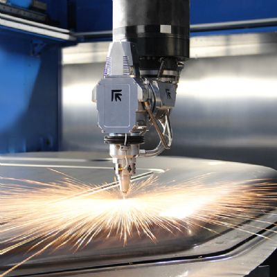 New Fiber-Laser Cutting Machine Features Large Work Envelope...