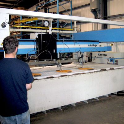 Gasket Manufacturer Slashes Production Time with Waterjet Cu...