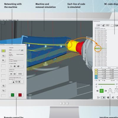 CAM Software with Virtual Machining Simulation and Enhanced ...