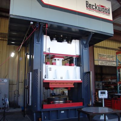 Custom Hydraulic Stamping Press Helps Aerospace Supplier Fly...