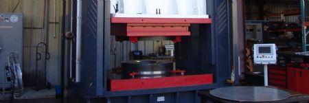 Custom Hydraulic Stamping Press Helps Aerospace Supplier Fly High
